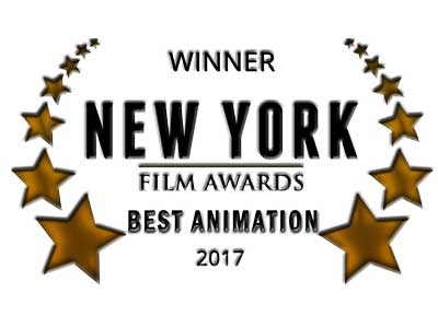 Winner New York Film Awards Best Animation 2017
